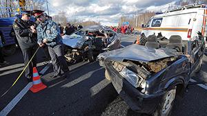 Тыс человек погибло в авариях за три